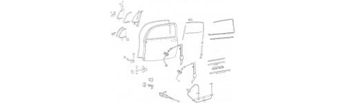 Joints & mecanisme de porte