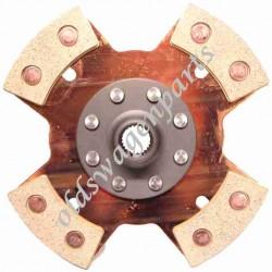 disque d'embrayage 200mm rigide (sans ressorts de rappel) KENNEDY