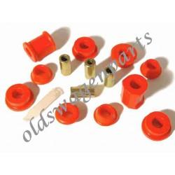 silentbloc dans le bras de suspension pour la barre stabilisatrice 1302-1303