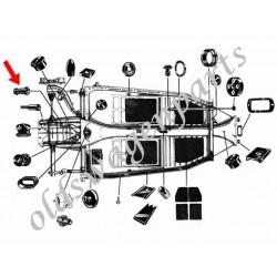 câble d'embrayage 5/74- (2270mm)