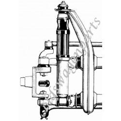 clip pour embout de câble de compteur côté roue