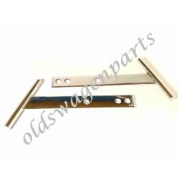set de 2 ferrures de pare-choc arrière pour installation de pc 1200 sur cox 1200/1302/1303 73-