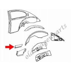 panneau arrière droit 8/64- complet avec emplacement pour les croissants arrière réf 18811, 18812 ou 18813