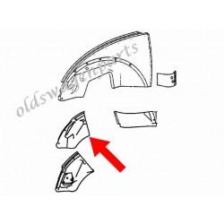 support ferrure avant gauche sur tôle 1300 -7/67 et 1200 -7/73