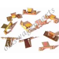 clips (10) pour baguettes de marchepieds 10mm