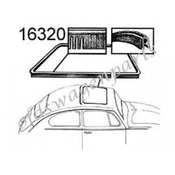 joint de toit ouvrant arrière 64 - 77 ( inclus 1302 )