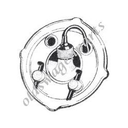 vanne pneumatique de bocal de lave-glace d'origine 8/67- sauf 1302-1303