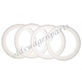 set de 4 flancs blancs 15""