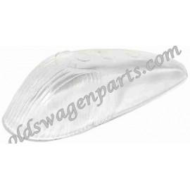 glace de clignotant d'aile blanche 8/58-7/63