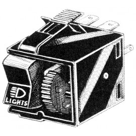 interrupteur de phare 8/67- avec potentiomètre (sauf 1303 7/73-)