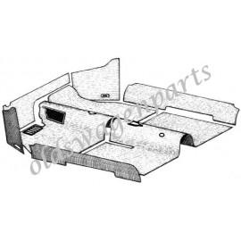 kit moquette intérieur noire 56-58