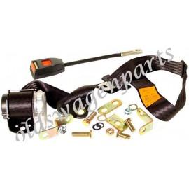 ceinture sécurité arrière noire manuelle (2 points d'attache)