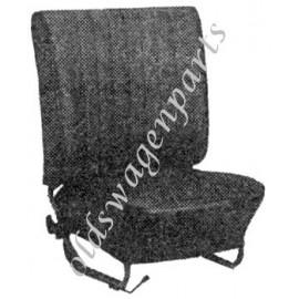 kit housses de sièges (av+arr) noir 73