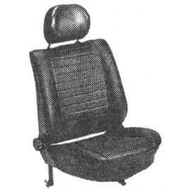kit housses de sièges (av+arr) noir 74-76