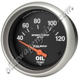manomètre de pression d'huile SPORT COMP