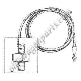 set de 2 câbles de tension latéraux gauche et droit
