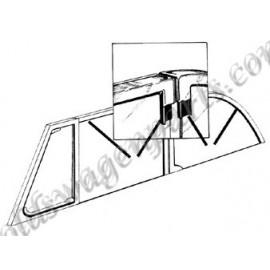 cadre de vitre arrière chromé cabriolet 65-79 neuf gauche ou droit