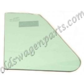 vitre de déflecteur gauche ou droit claire cabriolet 65-72