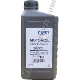 bidon d'huile 2L YACCO 15W50 minérale
