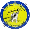 thermomètre émaillé bleu michelin 65x300mm