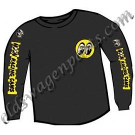 sweat shirt noir MOON