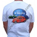 "tee-shirt ""EMPI American Classic"" orange taille XXL"