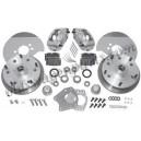 kit frein à disques avant 5x205 CSP T2 50-54 pour jantes 15''