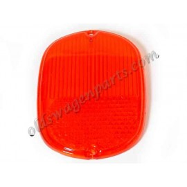vitre de feu arr 60-71 Europe rouge/orange
