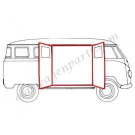 kit complet de joints de portes latérales (9 pièces) T2 -67