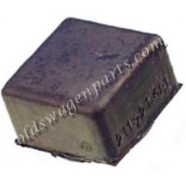 tampon carré de pédale de frein ou d'embayage 60-87