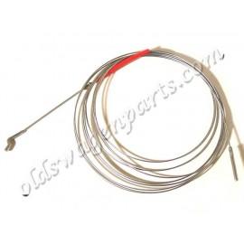 cable accélérateur 8/72-4/79 (moteur 1,6L) (3684mm)