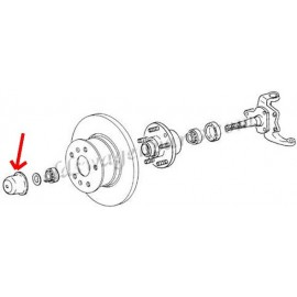 kit roulement de roue avant 8/67-4/79