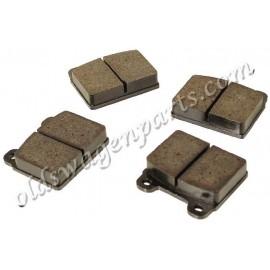 plaquettes de freins 8/70-7/72 (77x70x15mm)