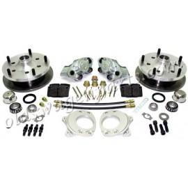 kit frein à disques avant 5x130 CSP T2 64-70 pour jantes 15''