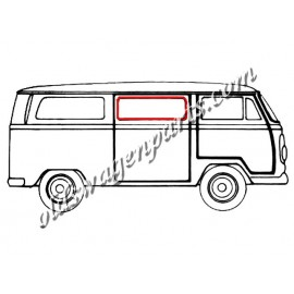 joint de vitre (cal-look) latérale centrale ou arrière gauche ou droite 68-