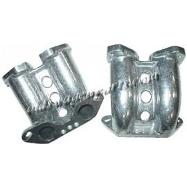 set de 2 pipes d'admission pour carburateurs IDF/DLRA sur T4
