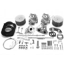 kit doubles carburateurs KADRON 44 mm
