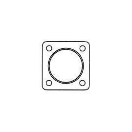 joint carré tube d'échappement