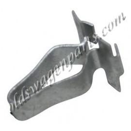 clip métallique de fixation de bande de caoutchouc de pare-choc