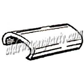 clips (4) pour moulure de pare-brise