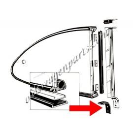 joints (2) d'appui du montant vertical de pop out arrière sur caisse 60-74