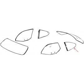 vitre latérale claire pivotante arrière gauche 60-74
