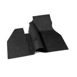 tapis de caoutchouc avant noir 60-67