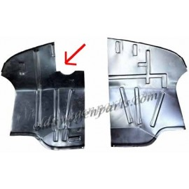 tôle de réparation de plancher de cabine gauche T2 73-79