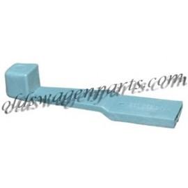 manette d'air frais bleue T2