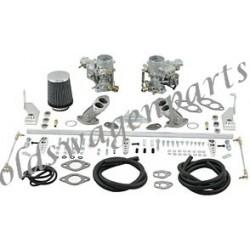 kit complet carburateurs weber 34 ICT pour moteur D/A